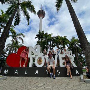 Kuala Lumpur Tower Malaysia Love Sign